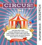 Vintage Circus  Carnival Or Fu...