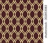 geometric ornament. seamless ... | Shutterstock . vector #302853083