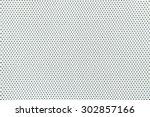 seamless polka dot background | Shutterstock . vector #302857166