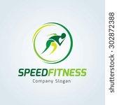 Speed Fitness Running Logo...