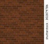 seamless brick texture very... | Shutterstock . vector #302879786