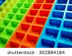 Colourful Ice Cube Trays