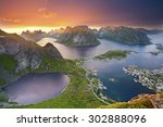 Lofoten Islands. View From...