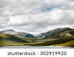 Lonely Highland Landscape