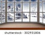 Blurred Background Of Window...