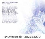 abstract vector background.... | Shutterstock .eps vector #302933270