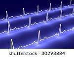 pulse trace | Shutterstock . vector #30293884