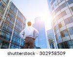 career concept  business... | Shutterstock . vector #302958509