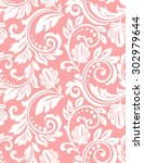 floral pattern. wallpaper...   Shutterstock .eps vector #302979644
