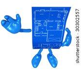 home construction blueprint | Shutterstock . vector #30302557