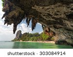 Tropical  Phra Nang Beach...
