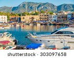 Kyrenia  Girne  Harbour. Cyprus