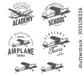 Light Airplane Related Emblems...