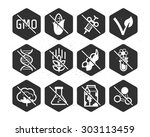 diet icons and labels  food... | Shutterstock .eps vector #303113459