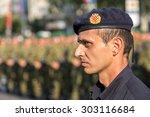 zagreb  croatia   august 4 ... | Shutterstock . vector #303116684