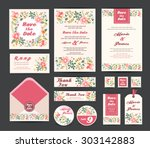 wedding floral template...