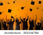 celebration education... | Shutterstock . vector #303146786