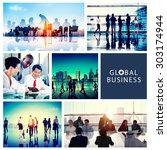 Global Business People...
