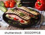 Creative Aubergine Sandwich...