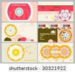 namecard   Shutterstock .eps vector #30321922