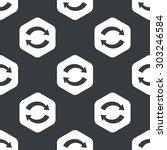 image of exchange symbol in... | Shutterstock .eps vector #303246584