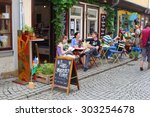 erfurt  thuringia  germany  ... | Shutterstock . vector #303254678
