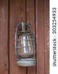 trapper's vintage equipment. | Shutterstock . vector #303254933