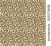 Leopard Fur. Realistic Seamles...