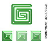 green line corporate logo...