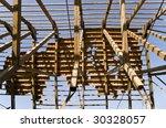 destroyed roof | Shutterstock . vector #30328057