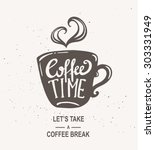 """coffee time"" hipster vintage... 