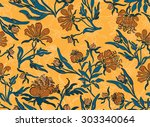 seamless background with...   Shutterstock .eps vector #303340064