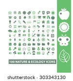 ecology  nature isolated flat... | Shutterstock .eps vector #303343130