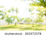 defocused and blurred image for ... | Shutterstock . vector #303372578