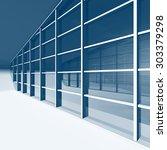 futuristic architecture...   Shutterstock . vector #303379298