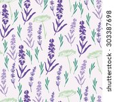 Simple Pattern With Lavender...