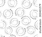 vector seamless pattern.... | Shutterstock .eps vector #303401579