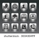 technology and modern... | Shutterstock .eps vector #303430499