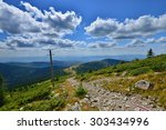 Landscape With Stone Road From...