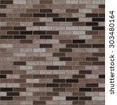 seamless brick texture very... | Shutterstock . vector #303480164