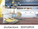 safety and maintenance tools... | Shutterstock . vector #303518924
