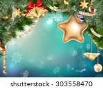 Christmas Decoration With Fir...