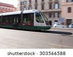 rome  italy   may  2015  tram...   Shutterstock . vector #303566588