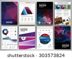 abstract vector backgrounds and ... | Shutterstock .eps vector #303573824
