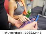 sport  fitness  lifestyle ... | Shutterstock . vector #303622448