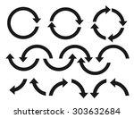 arrow | Shutterstock .eps vector #303632684