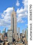 new york city   april 29  2015  ... | Shutterstock . vector #303685790