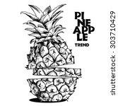 Image Slices Of Pineapple Frui...