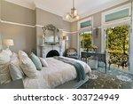 modern bedroom interior | Shutterstock . vector #303724949