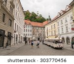 ljubljana  slovenia   12 jul...   Shutterstock . vector #303770456